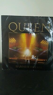 "Queen Hammer to Fall 12"" 45rpm Original 1984 Rare Collectable"