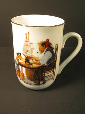 """For a Good Boy"" Norman Rockwell Collector Coffee Cup"