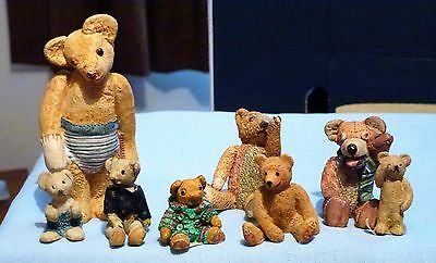 Colourbox  Bears    Eight  Assorted, All In   Ex!!!!!!!!!  Set. 3