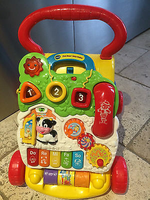 VTEC First Steps Baby Walker with Detachable Play Learning Centre Activity Toy