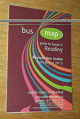 Reading Bus Map August 2015 edition - Reading Borough Council