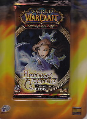 WORLD OF WARCRAFT TCG - Heroes of Azeroth Cards Booster Packs (20) #NEW