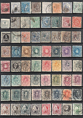 Early Stamps From Spain 19Th C. - 1930