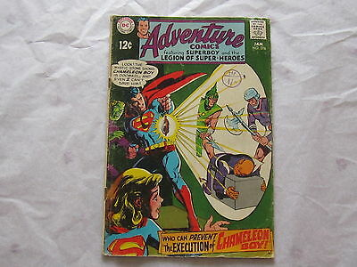 Adventure Comics,Superboy and the Legion of Super Heroes, January 1969, No 376