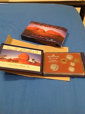 2002 Year of the Outback- Six Coin Proof Set, Royal Australia Mint