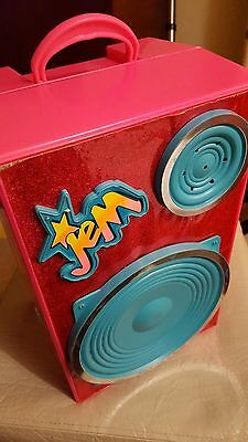 Vintage 80's Jem Doll Working Backstage Speaker, With Accessories & Chair
