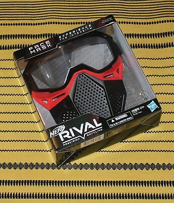 Nerf Rival Team RED Face Mask Gear NEW