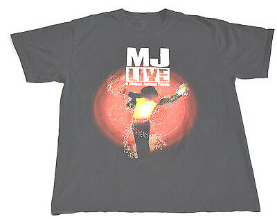 Michael Jackson LIVE tribute t shirt Adult LG