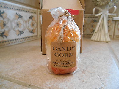 Star Hollow Candle Company Candy Corn Candle - nwt