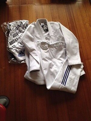 New Adidas Bjj Quest Gi A3 White Pick-Up Melb Rrp $270.00