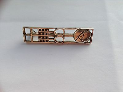 Solid Silver Rennie Mackintosh inspired Brooch/Pin