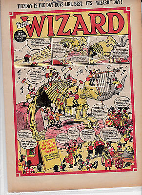 wizard comic golden age1949 2copies post free uk only