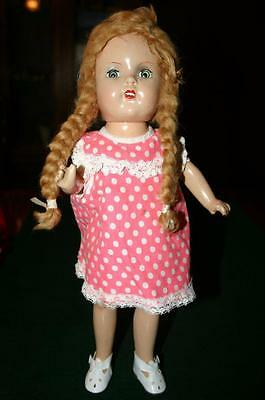 Composition Doll with Braids