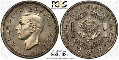 1948 South Africa Proof Crown PCGS PR64