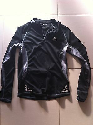 Attiq Mens Size S Longsleeve Base Layer Dry Climate Active Cycle Top