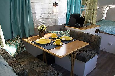 Renovated 2001 Coleman Sedona Pop-up Camper with HDTV and King Bed