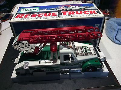 1994 Hess Toy Truck RESCUE TRUCK----  HESS GAS TOY TRUCK