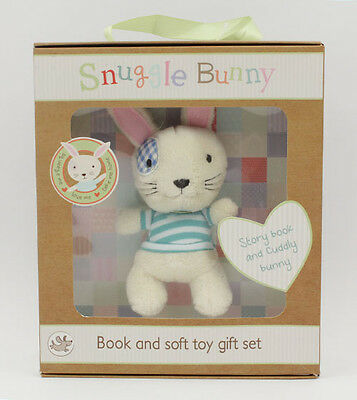 Snuggle Bunny Book Soft Toy Gift Set New in Package