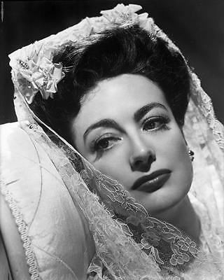 JOAN CRAWFORD BRIDAL VEIL  8x10 Photo 07