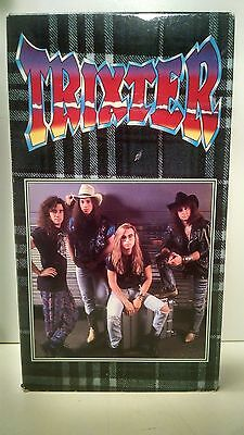 TRIXTER VHS Give it To Me Good One in a Million 80s metal video tape movie 1991