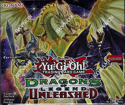 YU-GI-OH! Dragons of Legend Unleashed sealed booster box
