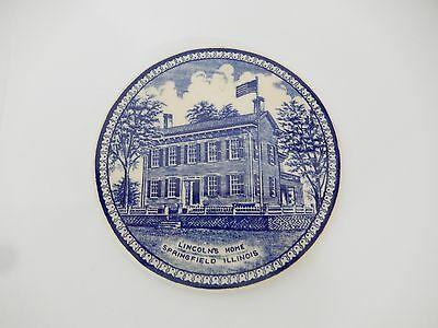 Made In Staffordshire England Trivet Of Lincolns Home In Springfield Il