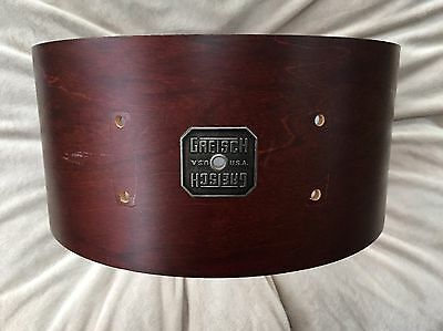 Gretsch USA 6.5x14 Snare Drum Shell Original Walnut Finish