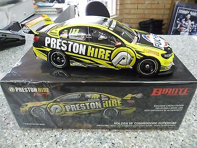 2016 Preston Hire Racing Team 18 Lee Holdsworth 1:18 Biante Model Supercars