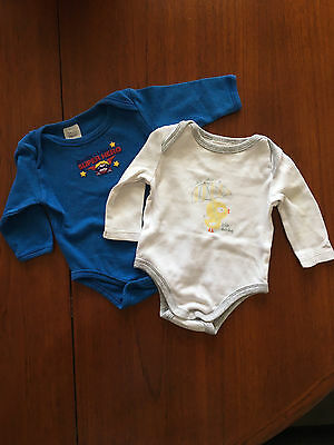 Boys Baby Clothes Long Sleeve Rompers Size 000