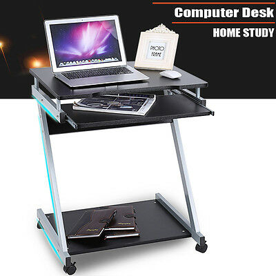 2017 Office Computer Desk Table Z Shaped PC Study Student Workstation Home Black