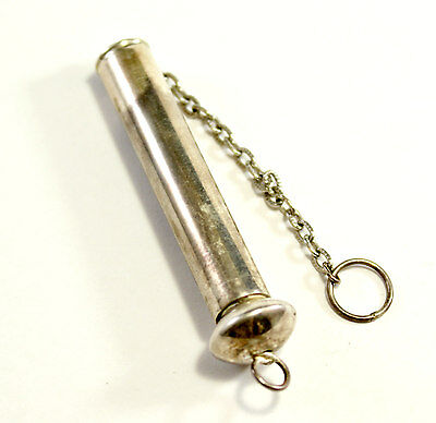 ANTIQUE STERLING SILVER 925 SEWING NEEDLE CASE 11.8 grams