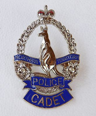 Northern Territory Police Cadet obsolete replica badge Not Fire Rescue Emergency