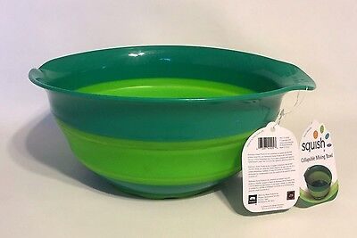 NEW Squish Collapsible Mix Bowl Green 5 QT, # 41005