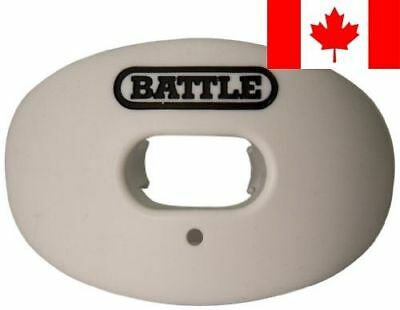 Battle Sports Science Oxygen Lip Protector Mouth Guard, White