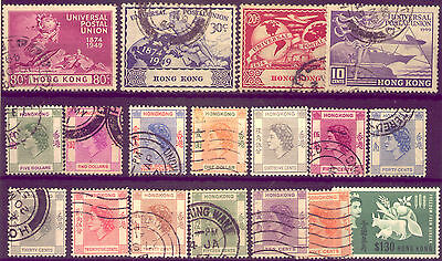 HONGKONG:  LOVELY SET of  GREAT STAMPS:SOME MINT   NO  RESERVE