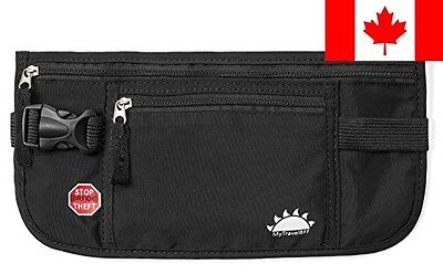 RFID Blocking Money Belt for Travel by MyTravelBFF, Keep Your Passport Hidden!