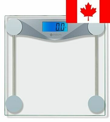 Etekcity Digital Body Weight Bathroom Scale with Body Measuring Tape, 400 lb/...