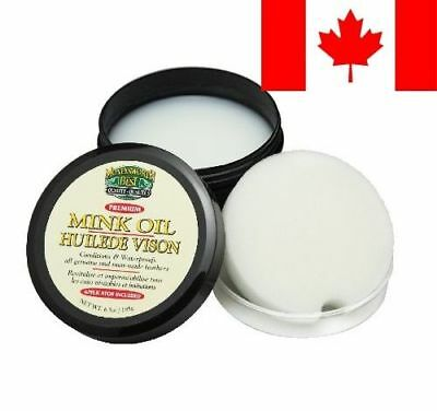 Moneysworth and Best Mink Oil-Tub, 6.5-Ounces