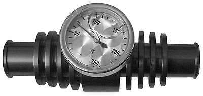 Modquad Radiator Inline Temp Gauge for ATVs 3? 379161 TEMP-3BLK 3'' BLACK