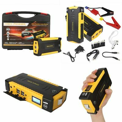 68800mAh 4USB Car Jump Starter Emergency Charger Booster Power Bank Battery NEW