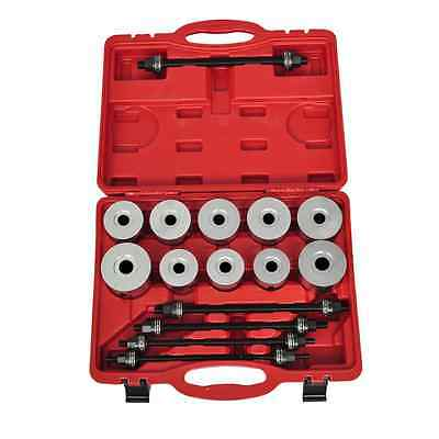 S# New 27pc Pull Press Sleeve Tool Kit Bearings Bushes Seals Removal Spindle Nut