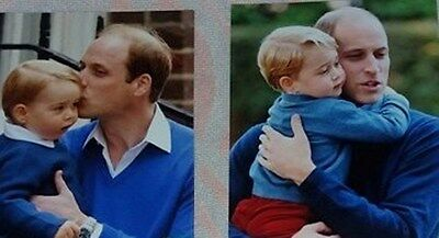 Photos real Pictures Prince William and his son George royal family buckingham