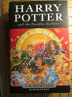 2 HARRY POTTER 1st EDITIONS, THE DEATHLY HALLOWS (2007) & ORDER OF THE PHOENIX