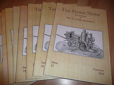 Toy Steam News (Nos.15 to 27 Sold Individually) Mamod Bowman Wilesco