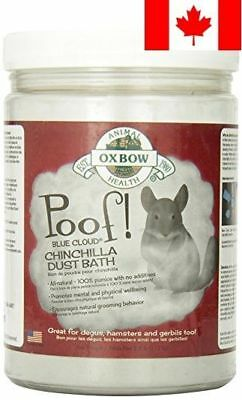 OXBOW Poof Blue Cloud Chinchilla Dust, 2.5 Pound