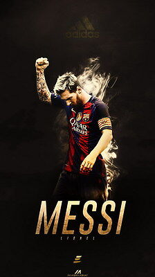 "TY07695 Lionel Messi - FCB Football Star Soccer 14""x24"" Poster"