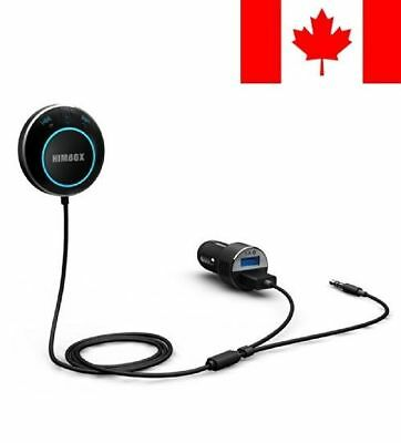 iClever Himbox HB01 Bluetooth 4.0 Hands-Free Car Kit for Cars with 3.5 mm Aux...