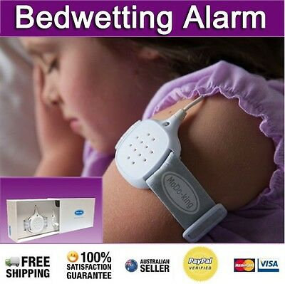 Bedwetting Alarm NEW Urine Bed Wetting Sensor Enuresis for Children