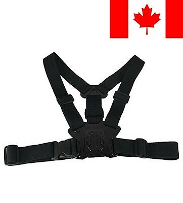 TELESIN Chest Mount Harness for Gopro Hero3/4 Accessories