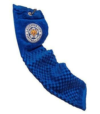 Leicester City Trifold Golf Towel - Official Licensed Product